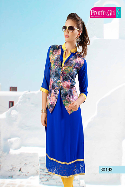 Blue color Kurti